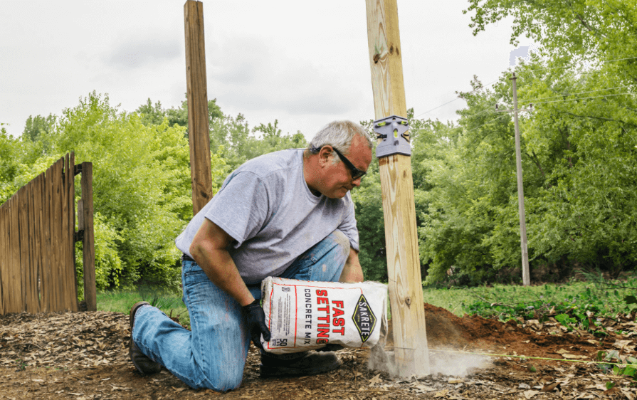 Quick-Setting Concrete for Small Projects
